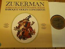 M 34571 Baroque Violin Concertos / Zukerman / LA PO