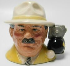Royal Doulton Character Toby Jug The Bowls Player D6896 4""