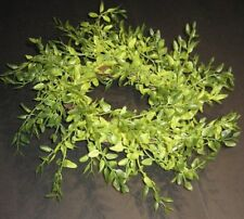 "11 "" X 3.5 "" SPRING GREEN LEMON BEAUTY CANDLE RING / WREATH for FARMHOUSE decor"