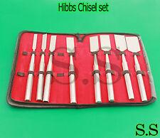 Hibbs Chisel Set Of 8 Pcs Orthopedic Surgical Medical Instrument