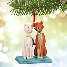 2015 Disney Store Duchess and O'Malley Sketchbook Ornament The Aristocats & NIB