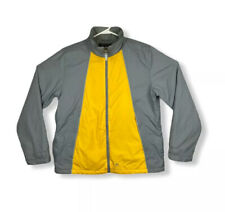 American Eagle AE77 Outdoor Performance Coat Mens Jacket Large Gray Yellow