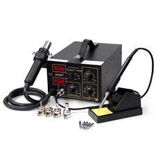 852D+ Digital Hot Air Rework Solder SMT Soldering Station Unit 110V/AC CE