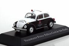 1:43 Altaya VW Fusca (Käfer) Policia Civil de Sao Paulo black/white