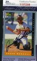 Jason Kendall 1993 Classic Rookie Jsa Coa Hand Signed Authentic Autograph