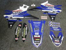 Yamaha YZF250 YZF450 2014-2017 Team Wilvo GP graphics,seat cover+plastics GR1437