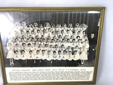 Vintage Photo of  St. Joseph's Church First Holy Communion May 1958, Salem OR