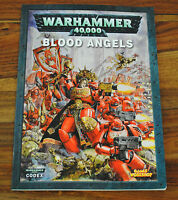 Livre WARHAMMER 40000 40K BLOOD ANGELS (Version Française)