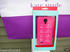 NEW IN A CASE/BOX KATE SPADE EMOTICONS  SAMSUNG GALAXY S4 CASE .100%AUTHENTIC