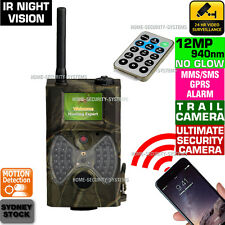 Trail Camera Hunting GSM Cell Phone MMS Wireless Security Cam 1080 No Spy Hidden