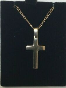 Brand New 9ct Yellow Gold Cross & Chain 4.8 grams  £225 or Best offer Freepost