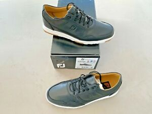 FootJoy Golf Casual UK 8.5 Medium Black - Ex display