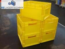 Euroleichtbehälter ELB 4220 gelb 5 St. SSI Schäfer Kiste Lagerkiste 400x300x220
