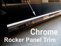 2005-2019 CHEVY Chrome SIDE ROCKER PANEL Trim Molding Kit 2PC