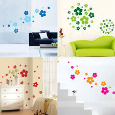 Floral Rain Flower Wall Decals Removable Stickers Decor Art Kids Nursery Home AU