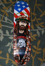 Sean Cliver Camo Jesus Cliche Skateboard Deck Screen Print Kill em all art 300