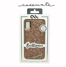 Case Mate Brilliance Jewel Dimante Case for Apple iPhone XS/X - Rose Gold