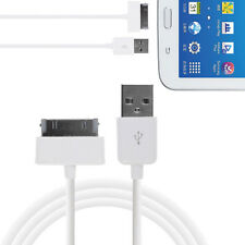 "USB Sync Data Charger Cable For Samsung Galaxy Tab 2 7"" 7.7"" 8.9"" 10.1"" 1M White"
