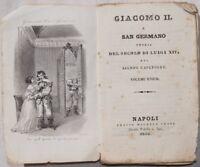 CAPEFIGUE GIACOMO II A SAN GERMANO STASI INCISIONE 1836