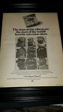 The Muppet Show 2 Album Promo Poster Ad Framed!