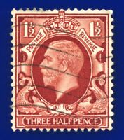 1934 SG441 1½d Red-Brown (Int Format) N52 Good Used apaf