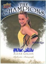 "2009-10 UD THE CHAMPIONS AUTO: ALEXE GILLES - AUTOGRAPH ""DISNEY ON ICE - FROZEN"""