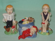 WADE COLLECT IT! MAGAZINE FAIRIES SET COLLECTANIA-COLLECTEENIE & COLLECTUS*MINT*