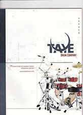 #MISC-0355 - vintage TAYE DRUMS musical instrument catalog