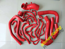 FIT TOYOTA SUPRA MK3 MA70 7MGE/7MGTE/7M-GT 1986-1992 1991 26pcs silicone hose