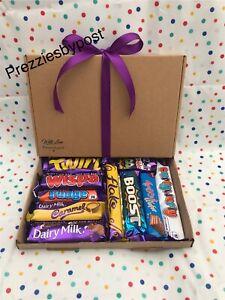 Cadbury's chocolate hamper gift box birthday present