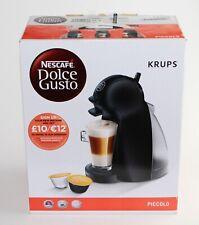 Nescafé Dolce Gusto Krups Piccolo Coffee Pod Machine Black & Dark Grey