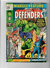 MARVEL FEATURE #1 - Grade 4.0 - First appearance & Origin of THE DEFENDERS!