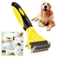 Professional Pet Dog Cat Comb Brush Grooming Undercoat Comb Rake T1Y5 Tool K8V5