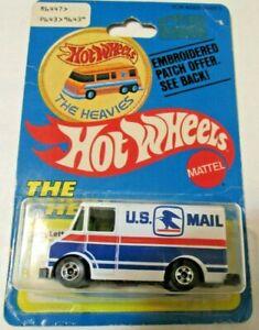 Hot Wheels Letter Getter 1972 Mattel Mint On Card The Heavies Unique Packaging