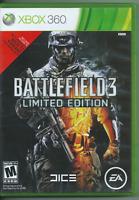 Battlefield 3: Limited Edition (Microsoft Xbox 360, 2011) 🍀🍀🍀