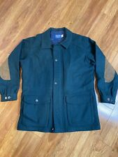 Pendleton Green Blue Wool Field Jacket Size M