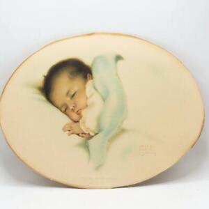 """Vintage Original Bessie Pease Gutmann Baby Print """"A Little Bit of Heaven"""""""