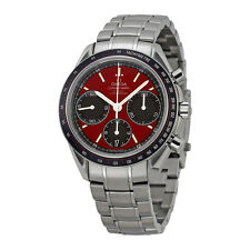 Omega Speedmaster Racing Red Dial Stainless Steel Mens Watch 32630405011001