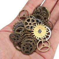 Vintage DIY Charms Steampunk Jewellery Cogs & Gears Watch Parts