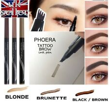 Microblading Tattoo Eyebrow liquid Ink Pen PHOERA® waterproof 4 fork pencil brow