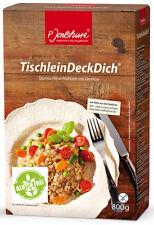 TischleinDeckDich 800g - P.Jentschura Qualität + verschiedene Gratisproben