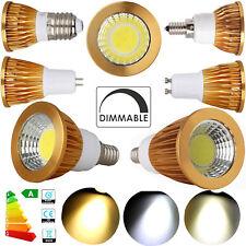 1x 5x Dimmable COB LED Spot Light Bulbs GU10 GU5.3 E12 E26 9W 12W 15W Lamp RD73