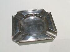 More details for solid silver ashtray j.d & s maker 72.1g ship worldwide