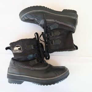 Sorel NL1655-010 Tivoli Size US 6 Insulated Waterproof Winter Snow Boots