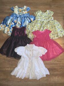 0-3 Months Baby Girl Handmade Dresses