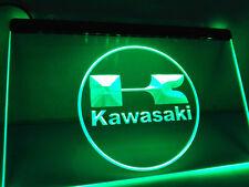 "Green Kawasaki 12""x8"" Led Neon Sign"