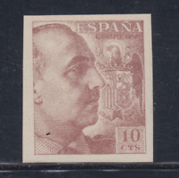 ESPAÑA (1939) NUEVO SIN FIJASELLOS MNH SPAIN - EDIFIL 888 (10 cts) FRANCO LOTE 3