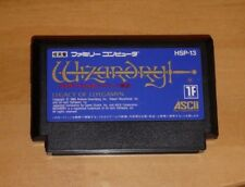 GAME/JEU FAMICOM NITENDO NES JAPANESE VERSION Wizardry Legacy Llylgamyn HSP-13