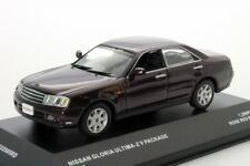 NISSAN GLORIA ULTIMA Z V PACKAGE ROSE RED PEARL 2001 JCOLLECTION JC02005RD 1/43