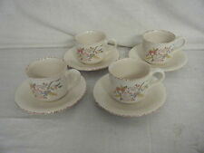 C4 Pottery Hornsea Seasons Set Of 4 Cups & Saucers 15.5x8cm 5A5B